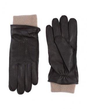 Перчатки ROYAL REPUBLIQ. Цвет: темно-коричневый