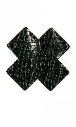 Накладки на соски maneater cross Bristols6. Цвет: черный