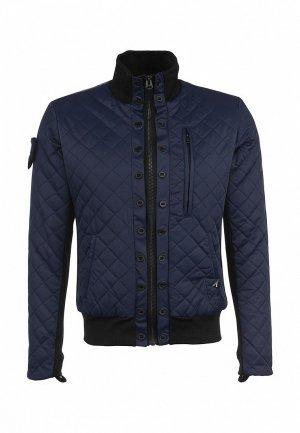 Куртка Denham DE787EMKN160. Цвет: синий