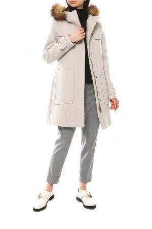 Пальто Bugatti. Цвет: серый