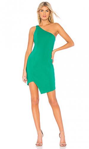 Платье johnson Jay Godfrey. Цвет: зеленый