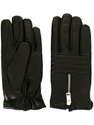 Перчатки на молнии Diesel. Цвет: черный