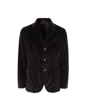 Пиджак THE GIGI. Цвет: темно-коричневый