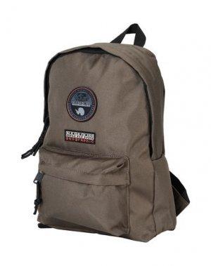 Рюкзаки и сумки на пояс NAPAPIJRI. Цвет: зеленый-милитари