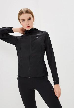 Ветровка ASICS PACKABLE JACKET. Цвет: черный