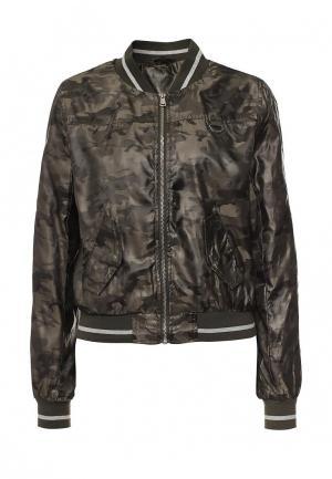 Куртка B.Style. Цвет: хаки