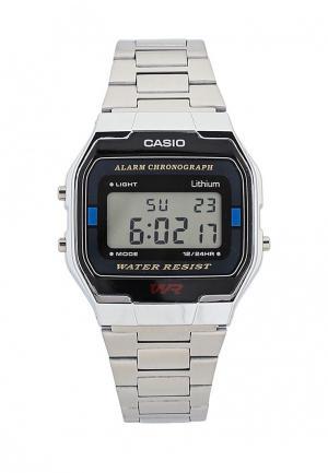 Часы Casio Collection A-163WA-1. Цвет: серебряный