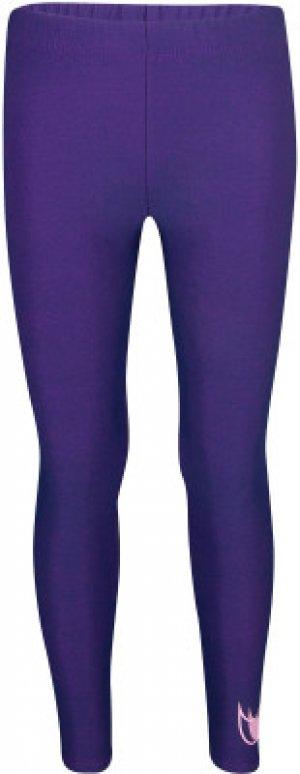 Легинсы для девочек DF Colorshift, размер 104 Nike. Цвет: синий