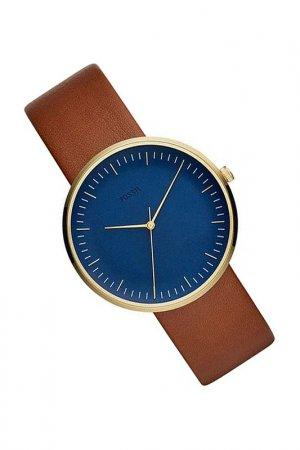 Наручные часы Fossil. Цвет: коричневый