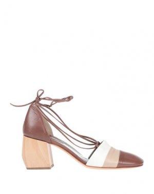 Туфли IXOS. Цвет: коричневый