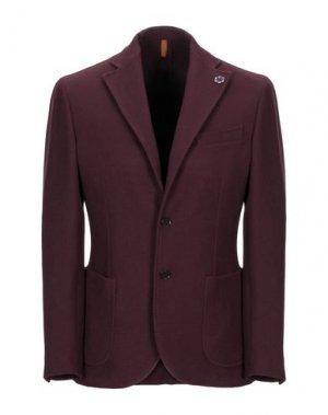 Пиджак GABARDINE. Цвет: баклажанный