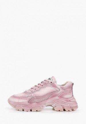 Кроссовки Bronx Tayke-over. Цвет: розовый