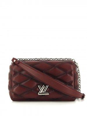 Сумка на плечо Twist pre-owned Louis Vuitton. Цвет: красный