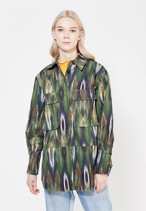 Куртка Mango - FLORIXTA. Цвет: хаки