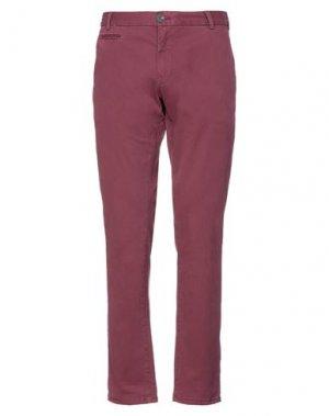 Повседневные брюки GARCIA. Цвет: красно-коричневый