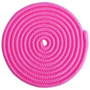 Скакалка для гимнастики grace dance 3 м, цвет розовый
