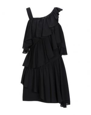 Короткое платье LAMANIA. Цвет: черный