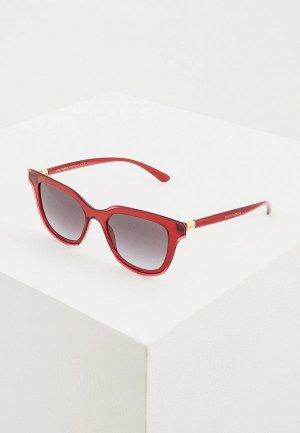 Очки солнцезащитные Dolce&Gabbana DG4362 32118G. Цвет: бордовый