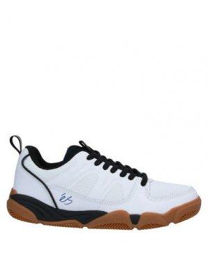 Низкие кеды и кроссовки ÉS. Цвет: белый