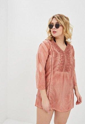 Платье пляжное Venera. Цвет: бежевый