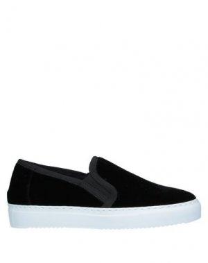 Низкие кеды и кроссовки ASPESI. Цвет: черный