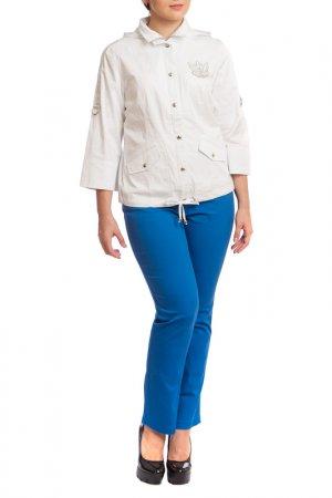 Куртка LAFEI-NIER. Цвет: белый