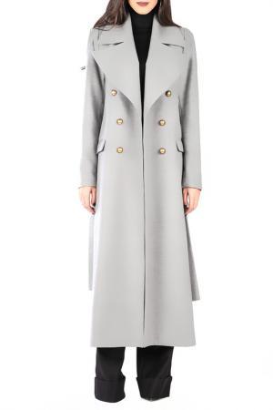 Пальто CARLA BY ROZARANCIO. Цвет: серый