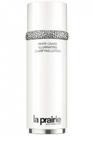 Осветляющий лосьон для лица White Caviar Illuminating Clarifying Lotion La Prairie. Цвет: бесцветный