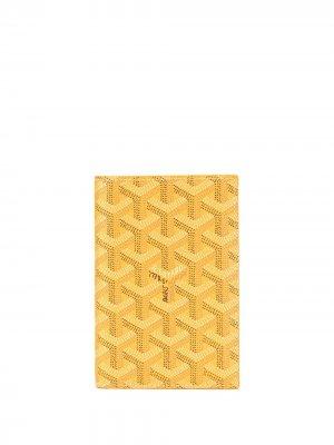 Обложка для паспорта 2008-го года Goyard. Цвет: желтый