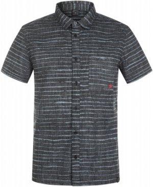 Рубашка с коротким рукавом мужская , размер 48 Protest. Цвет: черный