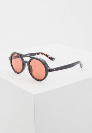 Очки солнцезащитные Jimmy Choo BOB/S KB7. Цвет: серый