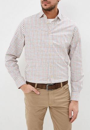 Рубашка Hackett London. Цвет: бежевый