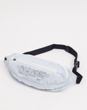 Черная сумка-кошелек на пояс с логотипом Running-Черный Nike
