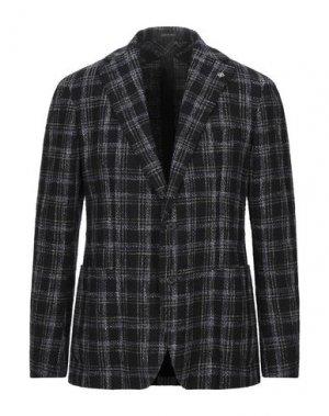 Пиджак TAGLIATORE. Цвет: темно-синий