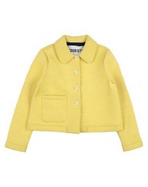 Пиджак TOURISTE. Цвет: желтый