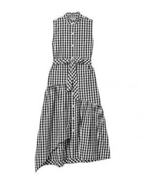 Платье до колена DEREK LAM 10 CROSBY. Цвет: черный