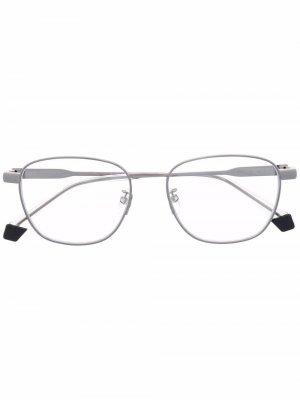 Солнцезащитные очки Kacamata в оправе кошачий глаз Polaroid. Цвет: черный