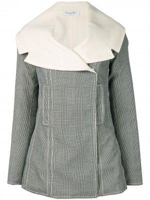 Двухсторонняя куртка с потайной застежкой pre-owned Christian Dior. Цвет: черный