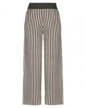 Повседневные брюки COMPAÑIA FANTASTICA. Цвет: зеленый-милитари