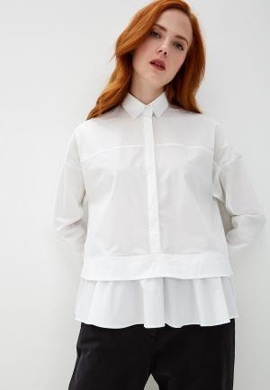 Блуза Bikkembergs. Цвет: белый