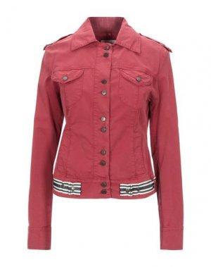 Куртка ALYSI. Цвет: кирпично-красный