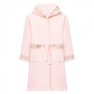Хлопковый халат La Perla. Цвет: розовый