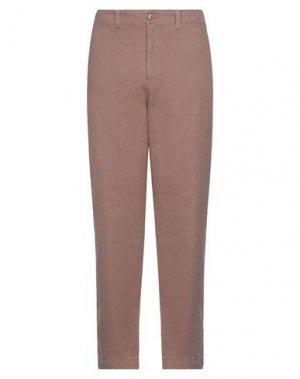 Джинсовые брюки STUSSY. Цвет: хаки