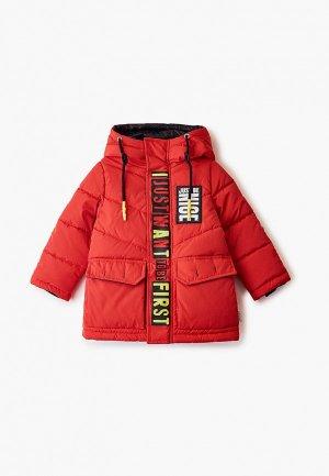 Куртка утепленная Boom. Цвет: красный