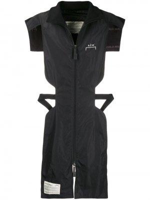 Удлиненный жилет A-Cold-Wall*. Цвет: черный