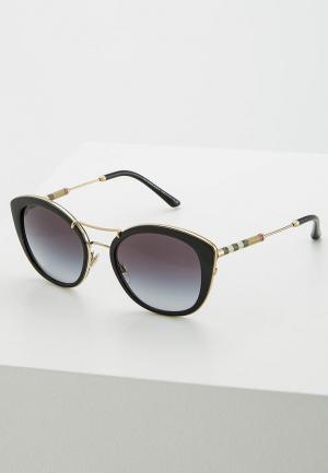 Очки солнцезащитные Burberry BE4251Q 30018G. Цвет: черный