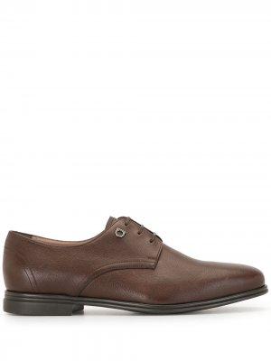 Туфли оксфорды Salvatore Ferragamo. Цвет: коричневый