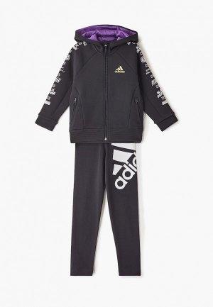 Толстовка adidas LB DY BP FZ HD. Цвет: черный