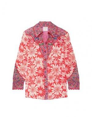 Pубашка ANNA SUI. Цвет: красный