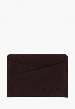 Визитница Reconds Pocket. Цвет: коричневый